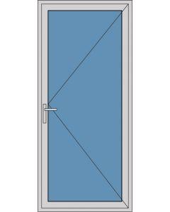 Aluminium enkele deur A247