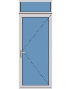 Aluminium enkele deur A249