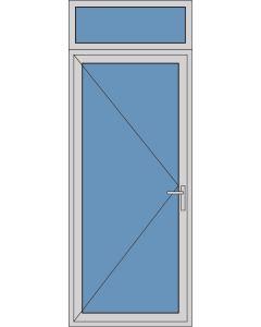 Aluminium enkele deur A250