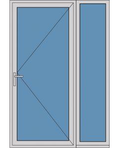 Aluminium enkele deur A263