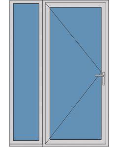 Aluminium enkele deur A264