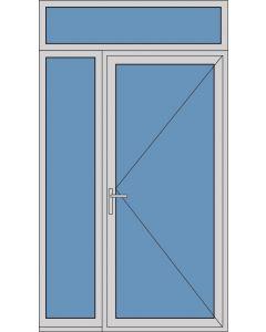 Aluminium enkele deur A285