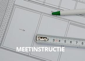 meetinstructie aluminium kozijnen schuifpuien deuren