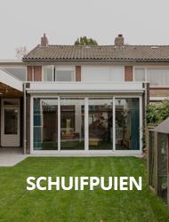 Aluminium schuifpuien van Kozijnmaatwerk.nl