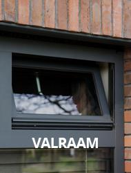Aluminium valramen van Kozijnmaatwerk.nl